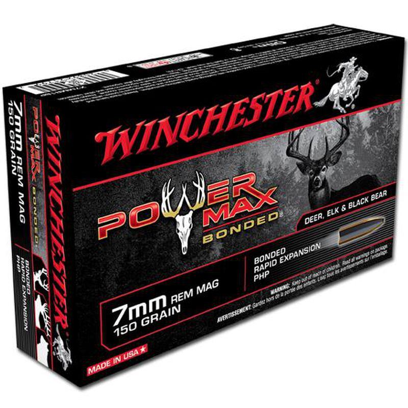 Winchester Power Max 7mm Remington Magnum Ammunition 20 Rounds PHP 150 Grains X7MMR1BP