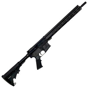 "GLFA .350 Legend Rifle .350 Legend AR-15 Semi-Auto Rifle 16"" Barrel 5 Rounds Optic Ready Synthetic Black Stock Black Finish"