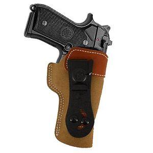 DeSantis 106 Beretta, 92FS, Taurus 92, 99 Sof-Tuck Inside the Pant Right Hand Leather Tan