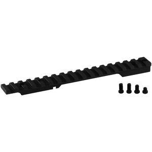 Seekins Precision Remington 700 Short Action 0 MOA One Piece Scope Base 7075-T6 Billet Aluminum Anodized Finish Matte Black