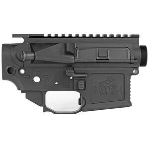 San Tan Tactical STT-15 Pillar AR-15 Receiver Set 7075-T651 Billet Aluminum Anodized Finish Matte Black