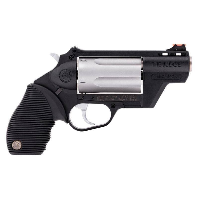 Taurus Judge Public Defender Double Action Revolver  45 Long Colt/ 410 Bore  2 5