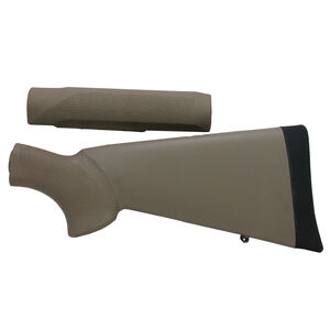 Hogue Stock Kit Mossberg 500 12 Gauge OverMolded with Forend FDE 05312