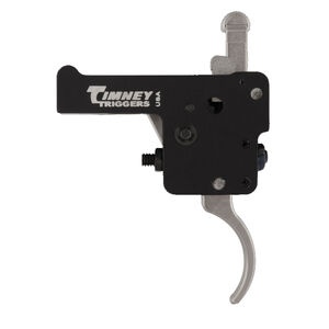 Timney Trigger for Howa 1500/Similar Pattern Clones With Safety Curved Trigger Shoe Adjustable from 1.5 LBS to 4 LBS with 3 LB Default Aluminum Nickel Finish