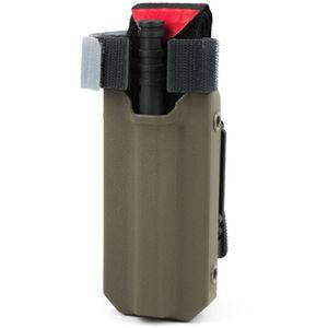 Eleven 10 RIGID TQ Case for C-A-T Gen 7 Slick Front Polymer Malice Clips Plain Finish Ranger Green