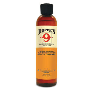 Hoppe's No. 9 Black Powder Gun Bore Cleaner  8 oz Plastic Bottle 10 Pack