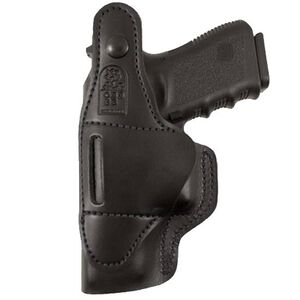DeSantis Gunhide Dual Carry II Ruger LCP, Kel-Tec P3AT, Diamond Back .380 IWB Right Hand Leather Black 033BA96Z0