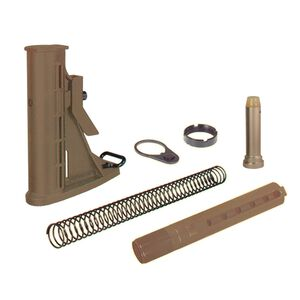 Leapers UTG PRO AR-15 Stock Assembly Mil-Spec 6-Position Collapsible Flat Dark Earth RBU6DM