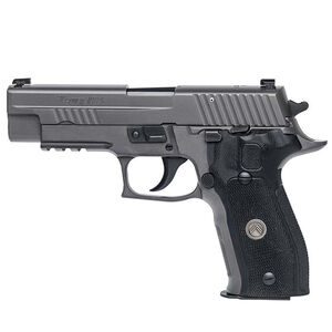 "SIG Sauer P226 Legion Semi Auto Pistol 9mm Luger 4.4"" Barrel 10 Round X-Ray Sights G10 Grips SIG Rail PVD Finish"