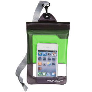 Travelon Waterproof Smart Phone/Digital Camera Pouch Green