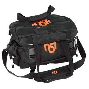 """DKG Range Bag With Shoulder Strap 18"""" Black With NSI Orange Logo Nylon NSIBAG"""