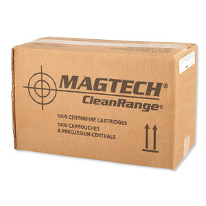 Magtech Clean Range .40 S&W Ammunition 1000 Rounds TMJ 180 Grains CR40A