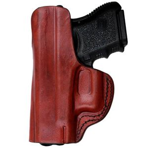 Tagua Gunleather IPH S&W M&P Shield IWB Holster Right Hand Leather Brown IPH-1012