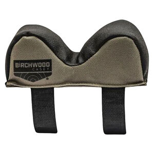 Birchwood Casey Universal Front Rest Narrow Width Poly/Leather Olive/Black
