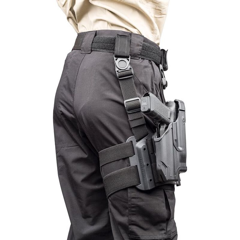 BLACKHAWK! Epoch Level III Tactical L3 Molded Light Bearing Holster S&W M&P 9/40 Right Hand