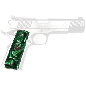 Pachmayr 1911 Grip Emerald Pearl Smooth