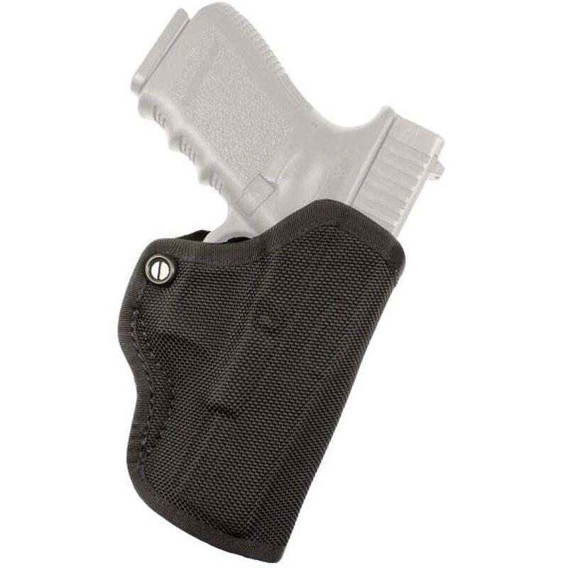 DeSantis Gunhide Nylon Mini Scabbard Belt Holster For GLOCK 42 Right Hand Ballistic Nylon Black M67BAY8Z0