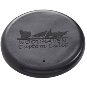 Woodhaven Custom Calls Surface Saver Lid for Pot Call Black