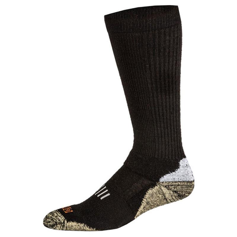 5.11 Tactical Merino OTC Boot Socks Small Black 10024