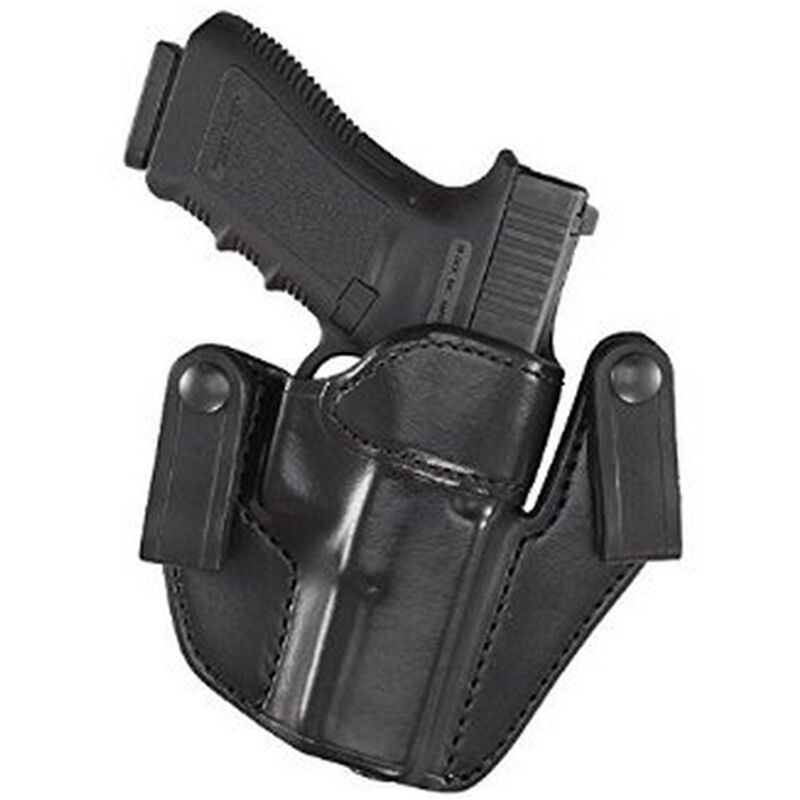 Aker Leather 176 Patriot Springfield XDS IWB Holster Right Hand Leather Plain Black