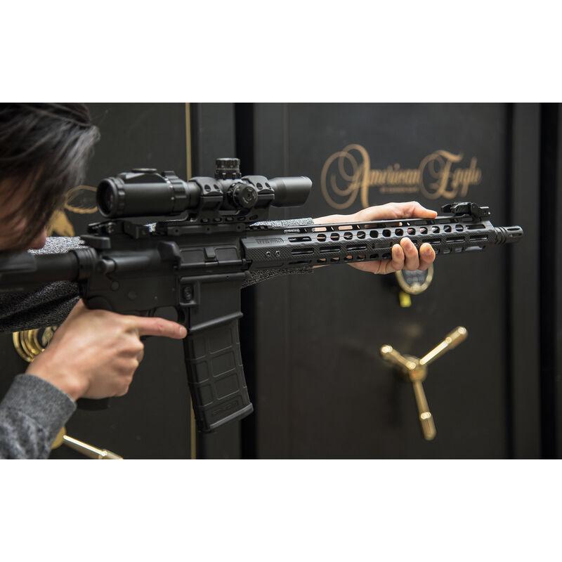 "UTG PRO M-LOK AR-15 15"" Ultra Slim Free Float Handguard, Ti-Titanium Barrel Nut"