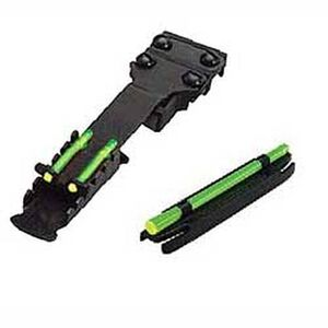 """HiViz Shotgun Magnetic Combo Pack Fits Ribs From 0.313"""" to 0.438"""" Front & Rear Sights"""