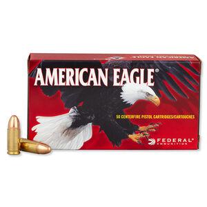 Federal American Eagle 9mm Luger Ammunition FMJ 115 Grains AE9DP