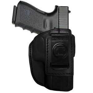 Tagua Gunleather 4-IN-1 GLOCK 42 Inside the Waistband Holster Right Hand Draw Leather Black IPH4-305