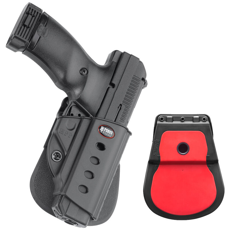 Fobus Evolution Paddle Holster Hi-Point OWB Right Hand Draw Polymer Construction Black Finish