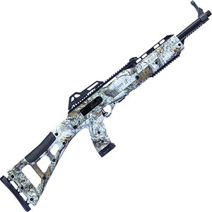 "Hi-Point Carbine 10mm Auto Semi Auto Rifle 17.5"" Barrel 10 Rounds MWM Winter Camo Polymer Skeletonized Stock Black Finish"