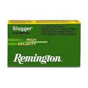 "Remington 12 Gauge 3"" .875 oz Rifled Slug 5 Round Box"