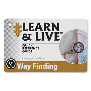 Ultimate Survival Technologies Learn & Live Way Finding Card Set 20-80-1040