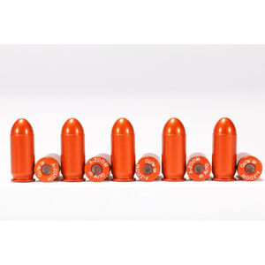 A-Zoom .45 AUTO Orange Snap-Cap Ten Pack