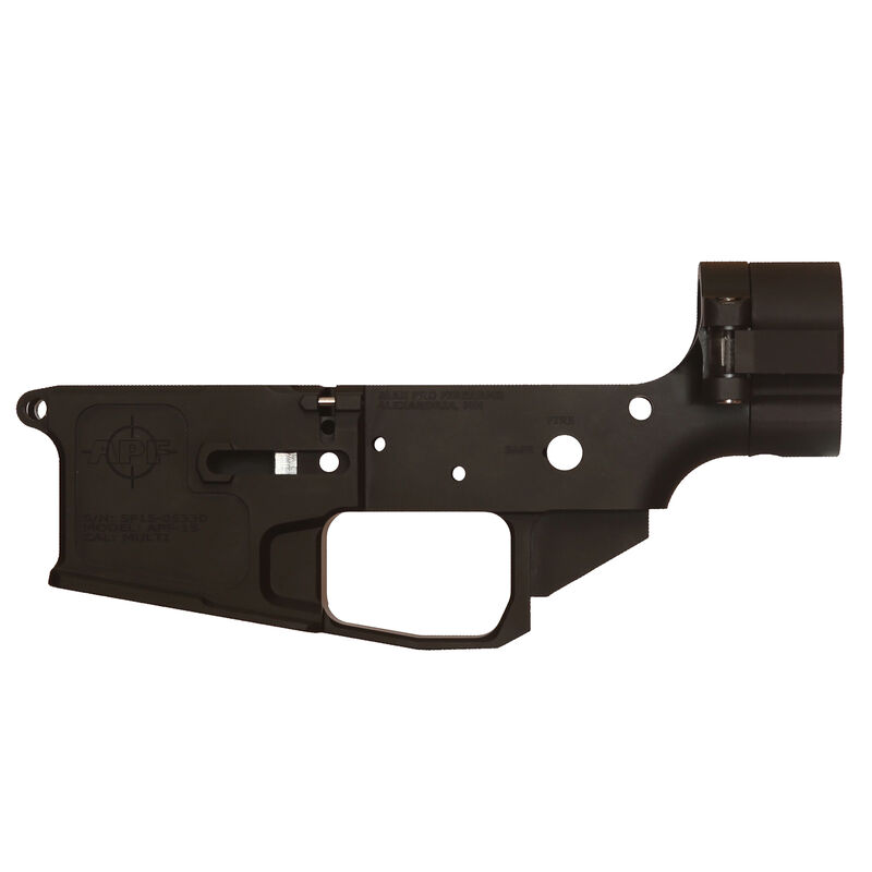 Alex Pro Firearms Stripped Side Folder AR-15 Lower Receiver Billet Lower Anodized Finish Matte Black