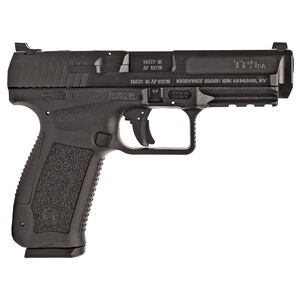 """Canik TP9SA Mod.2 9mm Luger 4.46"""" Barrel 18 Rounds Polymer Frame Black"""