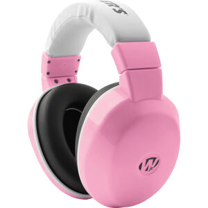 Walkers Passive Youth Earmuffs 24dB NRR Hearing Protection Polymer Pink & White