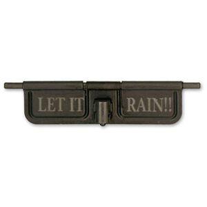 Black Rain Ordnance LR-308 Ejection Port Cover Assembly Let It Rain Anodized Aluminum Matte Black BRO-EDC-308
