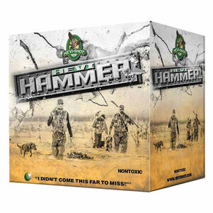 "Hevi-Shot Hevi-Hammer Ammunition 20 Gauge 25 Rounds 3"" #2 Shot 1 oz 1350 fps"