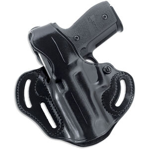 Galco Cop 3-Slot S&W M&P 9/40, SD 9/40 Belt Holster Thumb Break Left Hand Leather Black CTS473B