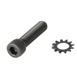 ATI AR-15/AR-10 Pistol Grip Screw/Star Lock Washer Spring Natural Finish