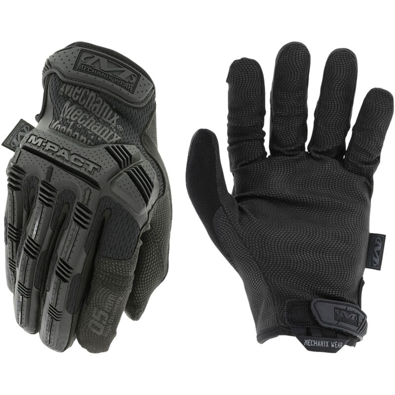 Mechanix Wear M-Pact 0.5mm Covert Gloves Size Small Synthetic Black