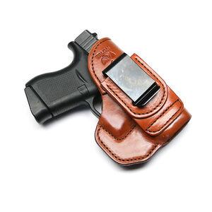 Talon Training Glock 43 Tuckable Holster Brown Right Hand No Laser