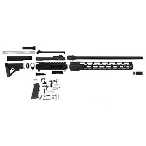 """TacFire AR-15 Complete Rifle Build Kit .45 ACP 16"""" Barrel Lower Parts Kit Matte Black Finish"""