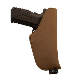 "BLACKHAWK! TecGrip Size 08 Small Frame Revolvers with 2"" Barrel Inside The Waist Band Ambidextrous TecGrip Fabric Coyote Tan 40IP08CT"