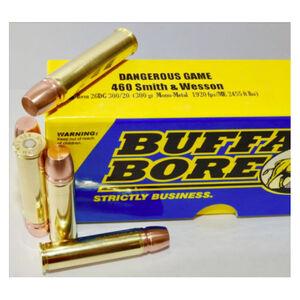 Buffalo Bore Dangerous Game .480 Ruger Ammunition 20 Rounds Mono-Metal Lead Free FN 330 Grain 13DG 330/20
