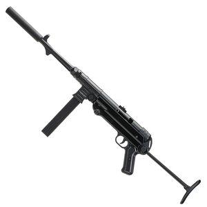 "Blue Line Global Mauser MP-40 .22 Long Rifle Semi Auto Rifle 16.3"" Barrel 23 Rounds Folding Stock Black"
