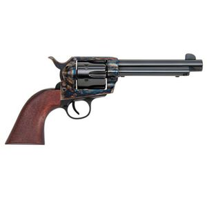 "Traditions Frontier 1873 Single Action Revolver .357 Magnum 5.5"" Barrel 6 Rounds Color Case Hardened Steel Frame Walnut Grips SAT73-007"