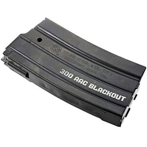 Ruger Mini-14 .300 AAC Blackout 20 Round Magazine .300 AAC Blackout Laser Engraved Metal Magazine Dark Finish