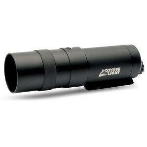 Coyote Light Flashlight Green LED Light with Rail Mount Rechargeable 3.7V Batteries Aluminum Black