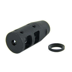 "TacFire .223/5.56 1/2""X28 Dragon Muzzle Brake Steel Black MZ1018"